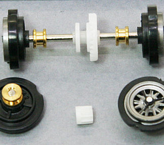 Carrera 8984 Axle assemblies for Chevrolet Corvette Stingray