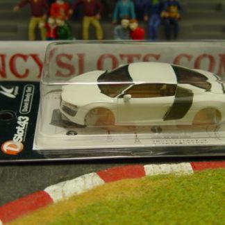 Kyosho DSP2010102 White Audi R8 Body 1/43