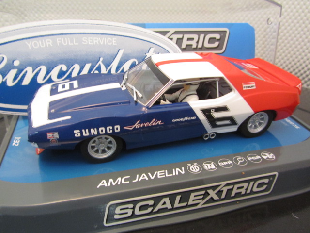 Scalextric C3731 AMC Javlin Mark Donhue