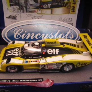 Le Mans Miniatures 132005 EVO/2M Renault Alpine A443B #2 Winner Le Mans 1978