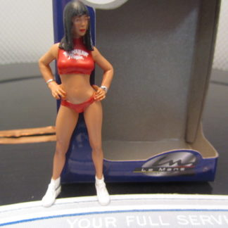 Le Mans Miniatures FLM132950/4 Julia Grid Girl Hawaiian Tropic 2000