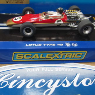 Scalextric C2964 Team Lotus 49 Graham Hill #5 367 of 1500