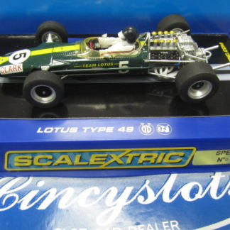 Scalextric C3222 Team Lotus 49 1967 Jim Clark #5 649 of 1500