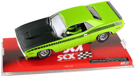 SCX 64380 Plymouth AAR Cuda Lime Limited Edition