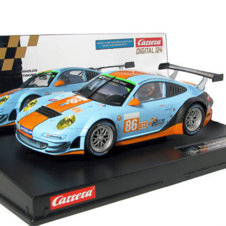 A Pre-Order Carrera D124 23810 Gulf Porsche GT3 RSR ONLY AVAILABLE IN EUROPE