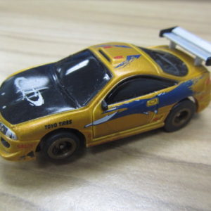 Fast and the Furious Gold Eclipse USED