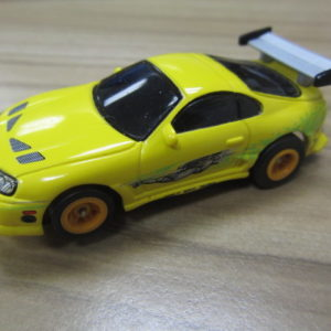 Fast and the Furious Yellow Toyota Supra USED