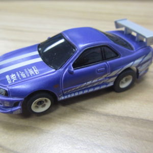 Fast and the Furious Purple Nissan Skyline USED