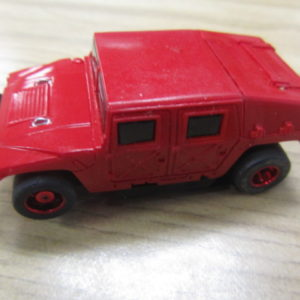 Tyco H1 Hummer Red USED