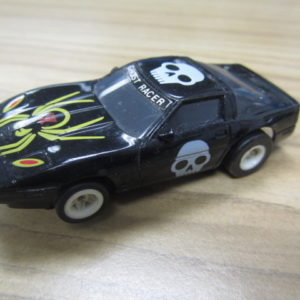 "Corvette Ghost Racer Black Tray ""A"""
