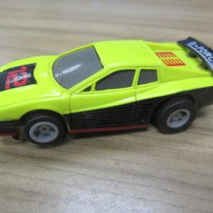 "Neon Yellow Ferrari Tray ""F"""