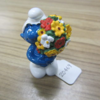 Smurf with Flower Bouquet BOX 4