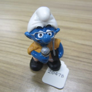 Smurf Reporter Butterscotch Jacket BOX 4