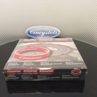 Carrera 85509 Guardrail 20M Red Carrera Edition NO CLIPS