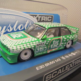 Scalextric C3865 E30 BMW M3 DTM Race Series Tic Tac #36