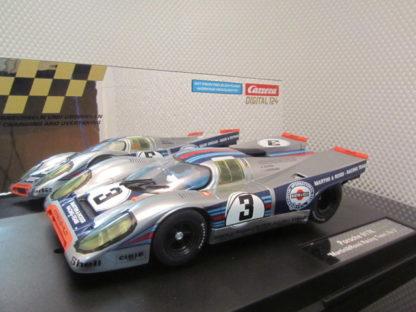 Carrera D124 23797 Porsche 917k Martini SLIGHTLY USED Slot Car