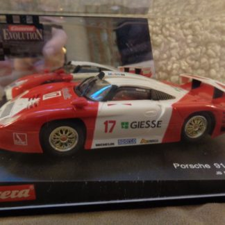Carrera Evolution 25402 Porsche 911 GT1 Giesse Slot Car