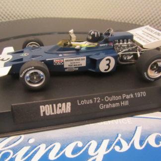 Policar CAR02b Lotus 72 Graham Hill #3