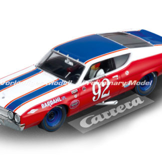 Carrera D132 30796 Ford Torino Bobby Unser Talladega #92 Slot Car