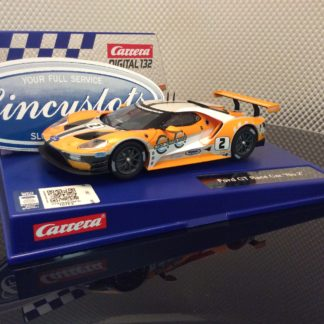 Carrera D132 30786 Ford GT Race Car #2 Slot Car