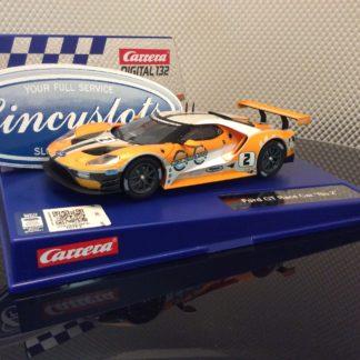 Carrera D132 30786 Ford GT Race Car #2 Slot Car