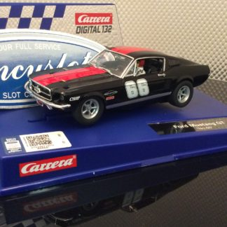 Carrera D132 30792 Ford Mustang GT #66 Slot Car