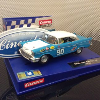 Carrera D132 30795 1957 Chevrolet Bel Air #90 Slot Car