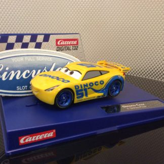 Carrera D132 30807 Disney Pixar CARS Dinoco Cruz Slot Car