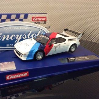 Carrera D132 30814 BMW M1 Procar Andretti #1 1979 Slot Car