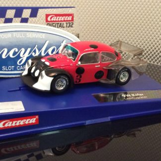 Carrera D132 30821 VW Kafer Group 5 Lady Bug Slot Car