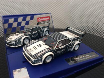 Carrera D132 30815 BMW M1 Procar #111 BOSS Slot Car
