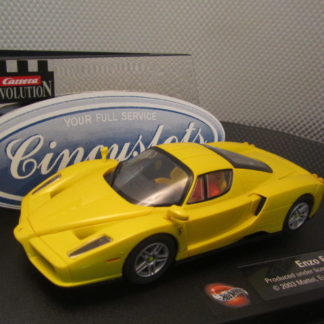 Carrera Evolution 25703 Enzo Ferrari Yellow Slot Car