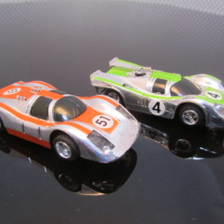 TYCO HO Race Set with 2 cars, Porsche 917k and Carrera 906 $60 Slot Car