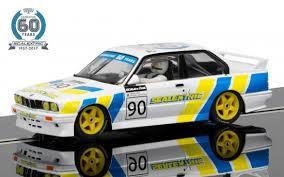 Scalextric C3829A BMW E30 M3 60th Anniversary Edition Slot Car