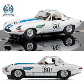 Scalextric 60th Anniversary Collection 1960 Jaguar E-type Limited Edition