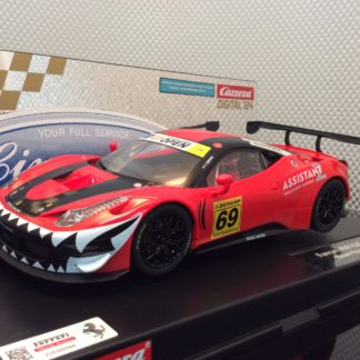 Carrera D124 23838 Ferrari 458 Italia GT3 Kessel Racing Slot Car