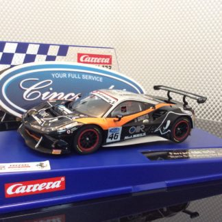 Carrera D132 30808 Ferrari 488 GT3 Black Bull Racing #46 Slot Car