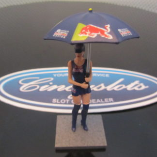 Sideways SWFIG/011 Red Bull Energy Drink Figure Slot Car