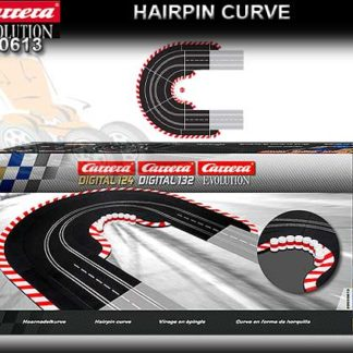Carrera 20613 Hairpin Curve 1/60 Digital 1/24 1/32 & Analog