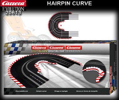 Carrera 20613 Hairpin Curve 1/60 Digital 1/24 1/32 & Analog