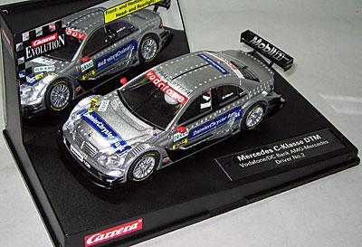 Carrera Evolution 25748 Mercedes C-Klasse DTM.