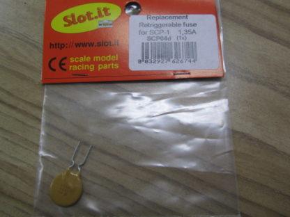 Slot It SCP04D Retriggerable Fuse 1.35A For SCP-1