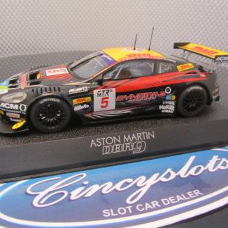 Scalextric C2790 Aston Martin DBR9 #5 DHL Slot Car