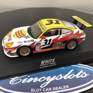 Scalextric C2339 Porsche 911 GTR3 White Lightning Motorsports #31