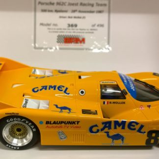 BRM021AW 'CAMEL' Porsche 962C, assembled with anglewinder chassis.