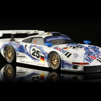 BRM043 1:24th scale Porsche 911 GT1 TEAM Mobil #25 with aluminum chassis.