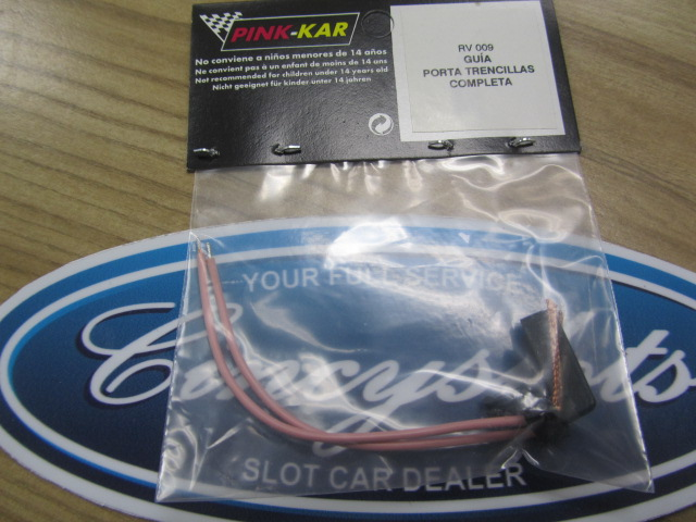 Pink-Kar RV009 Guide and wires slot car.