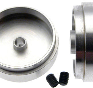 "Scaleauto SC-4042 ""Profile"" Design Slot Car wheel for 3mm Axle. M3 screws. solid"