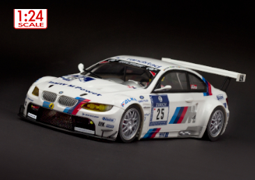 Scaleauto SC-7022 BMW M3 GT2 #25, 24h Nurburgring 2010