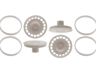 Scaleauto SC-7607 Wheel inserts modern OZ rally. diameter 16/17mm.
